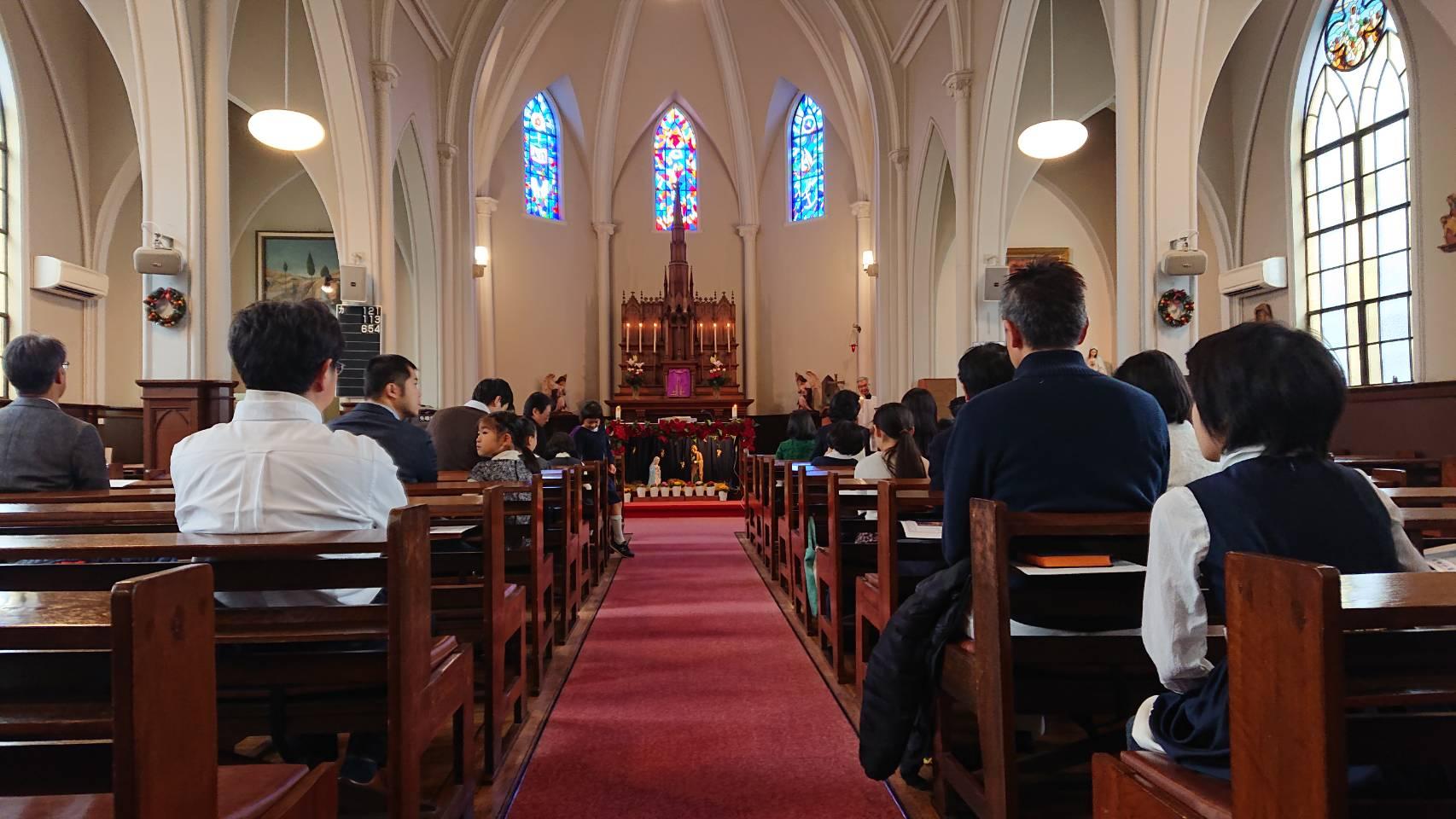 ミサ 区 カトリック 大司教 東京